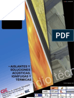 Compendio Aislantes y Soluciones Acusticas Ignifugas y Termicas