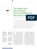 The Single-tooth Dental Implant