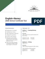 English Sctest 06