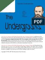 Fyodor Dostoevsky - Notes From the Underground