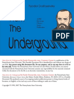 Fyodor Dostoevsky - Notes From the Underground