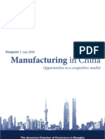 Manufacturing in China 2009 en[1]
