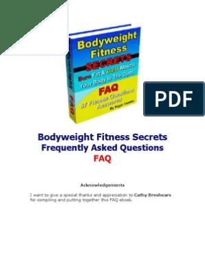 Lightning73FAQs2c | Aerobic Exercise | Weight Training