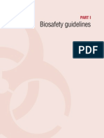 Biosafety Guidelines Part I