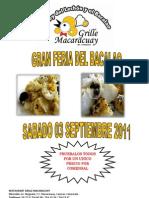 Gran Feria Del Bacalao - Rest. Grille Macaracuay