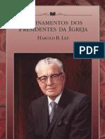 Ensinamentos Dos Presidentes Da Igreja - Harold b. Lee