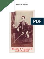 Ordini Di Francesco II^ Contro Garibaldi