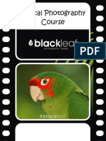 Digital Photography - Course Outline