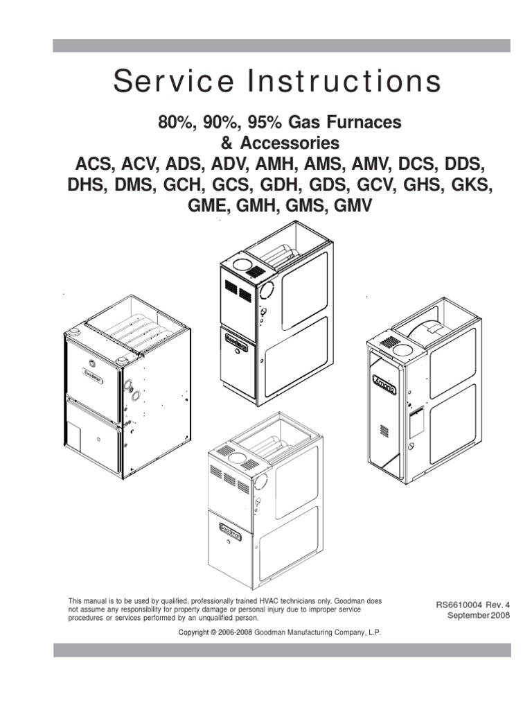 Oil Fired Furnace Wiring Diagram Goodman on