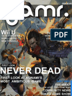 GAMR. Issue 1