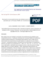 Revista de la Facultad de Ingeniería Universidad Central de Venezuela - _b_E