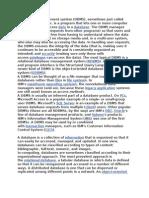 A Database Management System