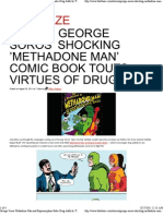 George Soros' Shocking 'Methadone Man'  Comic Book Touts Virtues of Drug