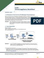 Hive Manager Virtual Appliance Quick Start 330029 03 RevA[1]