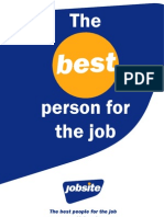 The Best Person for the Job