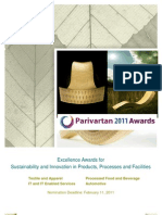 Parivartan Award Brochure