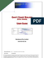Gantt Builder (Excel) - User Guide