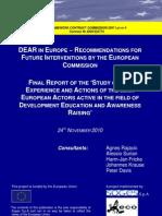 Final Report DEAR Study