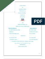 Project Report on Tata Telicomunication
