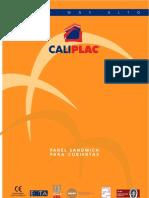 CALIPLAC CASTELLANO CATALOGO