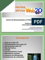 Presentacion Herramientas Colaborativas Web 2.0