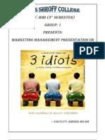 3 Idiots Word