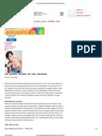 Los grandes secretos del ciclo menstrual - h! el corazón más joven_ Girl World Daily