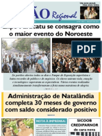 JORNAL VISÃO REGIONAL - EDIÇÃO 83 - AGOSTO DE 2011