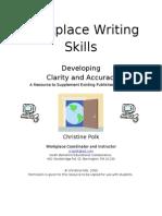 Workplace Writing Skills1(1)