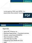 BPEL for Document Management