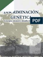 Discriminación Genética. Concepto, alcances y desafíos legislativos