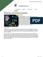 Placa de vídeo e GPU principais características