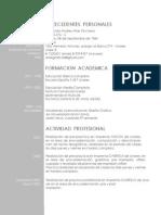 Curriculum Fernando Arias
