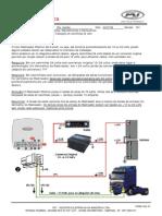 017-06 - Rastreador Pósitron G2 - Instalação em caminhões 24 volts