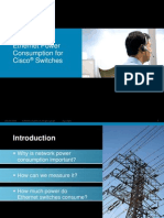 Cisco Power Consumption