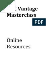 BEC Vantage Master Class