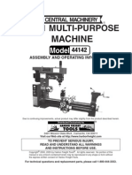 Central Machinery Multi Purpose Machine Model 44142
