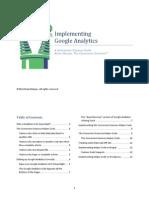 Conversion Sciences-Google Analytics Implementation Guide