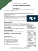 ERIKA Merkblatt & Verzichtserklärung