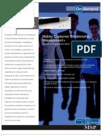 brochure crm customer mobile