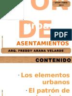 11 Elementos Urbanos y Patron de Asentamientos