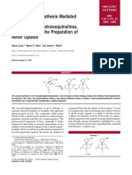Ring Closing Metathesis Mediated Synthesis of 4a-Aryloxodecahydroisoquinolines, Intermediates in the Preparation of Novel Opiates - Org. Lett., 2001, 3 (22), pp 3483–3486