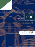 2001 NZ Fuel Study