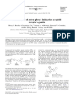 Potent Phenyl Imidazole Opioid Agonists - Bioog Med Chem Lett, 16, 2505 (2006)