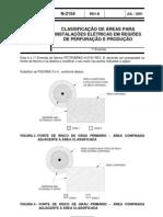 N-2154 - Classificacao de Areas Para Instalacoes Eletricas Em Regioes de Perfuracao e Producao