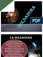 SOLDADURA TRABAJO diapositivas