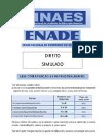 Prova Do ENADE - 2009