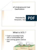 CFD of Underground Coal Gasification