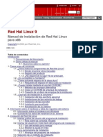 Manual y Instalacion y Configuracion de Red Hat