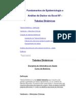 Fundamentos de Epidemiologia e Análise de Dados via Excel 97